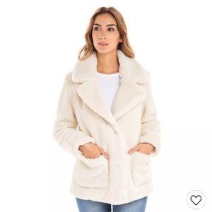 NEW Sebby Cozy Sherpa Teddy Coat